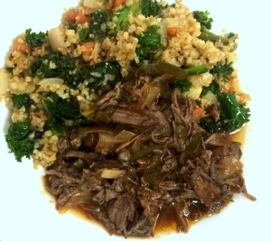 Whole 30 Slow Cooker Ropa Vieja (3)