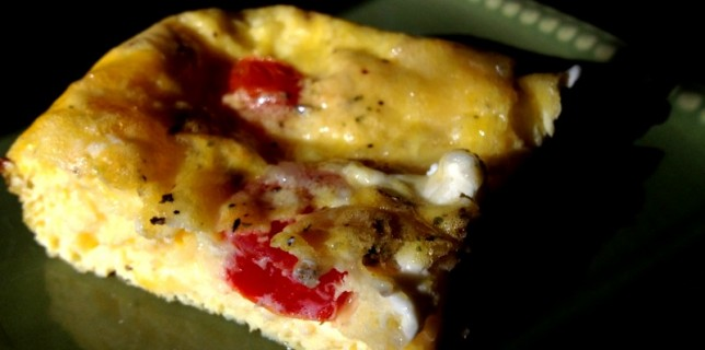 Homemade frittata recipe