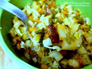 Fall vegetable hash for Thanksgiving
