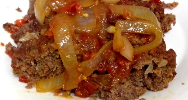 kobe Meatloaf recipe with tomato jam