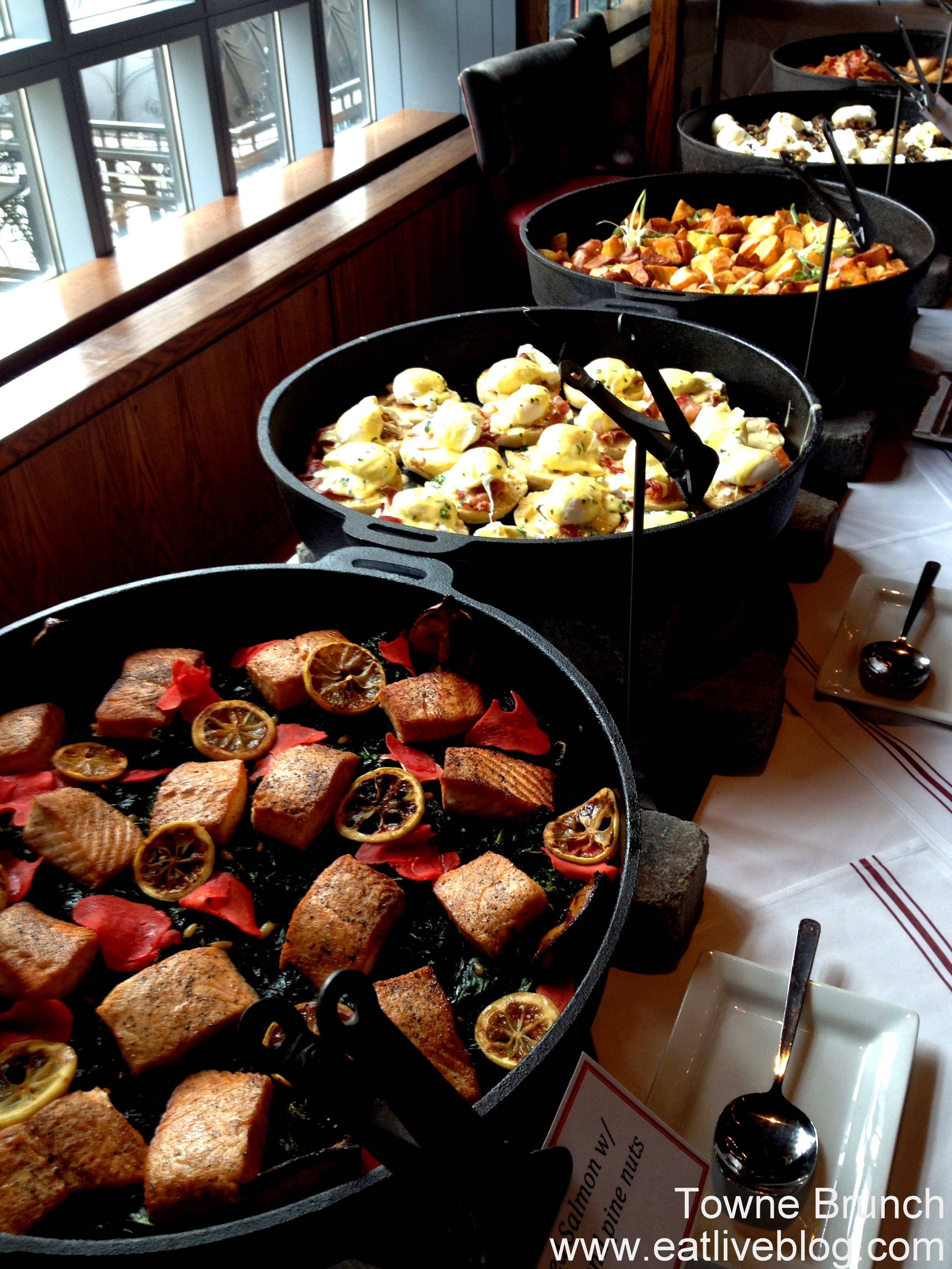 Brunch in Boston: Towne Stove & Spirits Brunch Buffet | Eat.Live.Blog