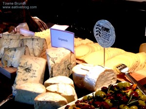 Towne Boston Brunch Buffet - Cheese Board