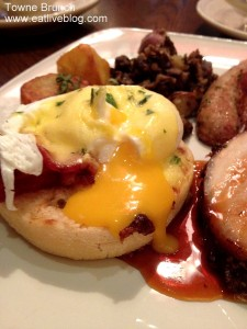 Towne Boston Brunch Buffet - Eggs Benedict