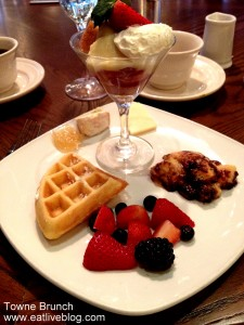 Towne Boston Brunch Buffet - dessertts