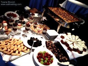 Towne Boston Brunch Buffet - Desserts