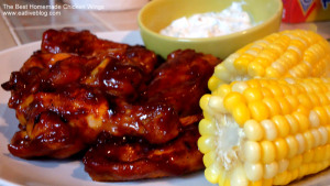 Chicken wing recipe for Super Bowl