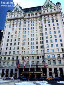 The outside view of the Plaza Hotel in New York City
