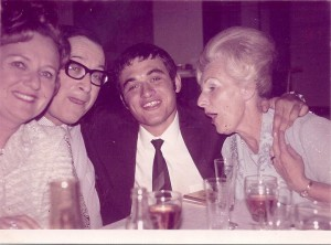 Pops with my grandparents, way, way back...