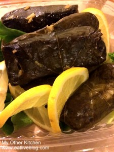 Vegetarian Grape Leaves My Other Kitchen Belmont