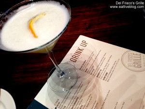 Del Friscos Burlington Drinks