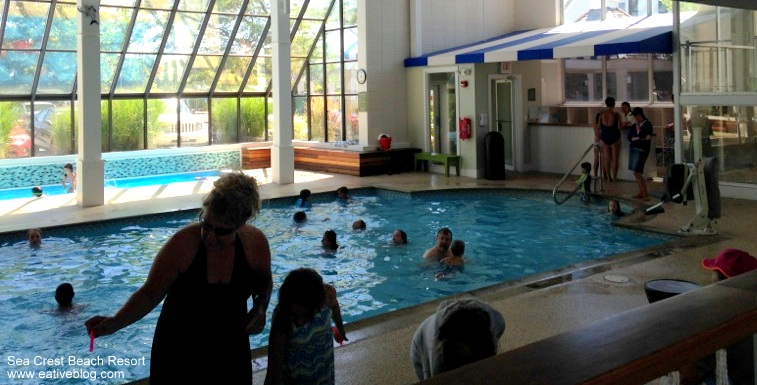 Indoor Pool At Sea Crest Beach Hotel