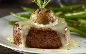 Longhorn Steakhouse NY Stuffed Mushroom Filet
