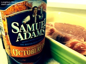 Massachusetts steak and sam adams oktoberfest