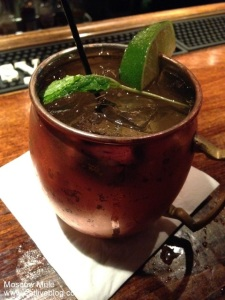 Moscow Mule Harrisons Stowe - Best drink in new england
