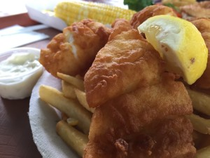 Fish & Chips from the Friendly Fisherman in Eastham, MA