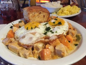 Lorettas Blue Grass Brunch Turkey Hash