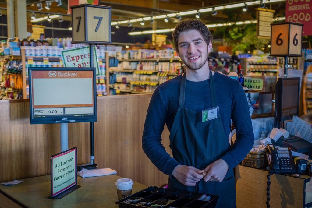 My son, Isaac, attends UCSC and works at New Leaf Market! I think he may have learned a thing or two from me?