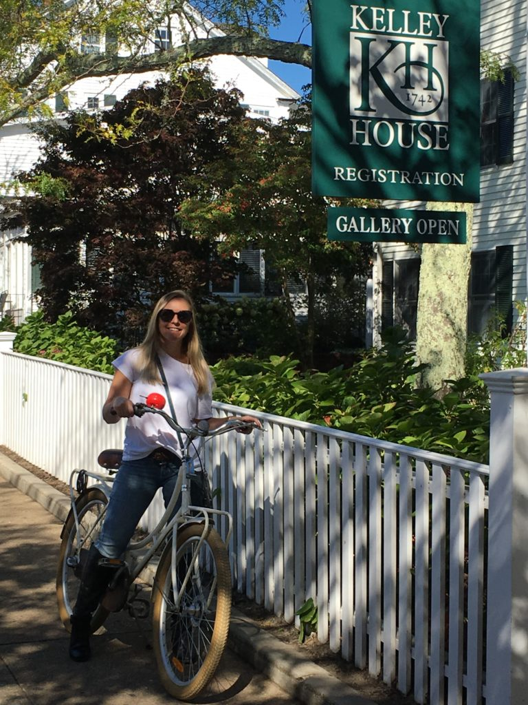 Bike riding on Martha's Vineyard